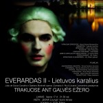 Everardo II, King of Lithuania on the lake of Galve